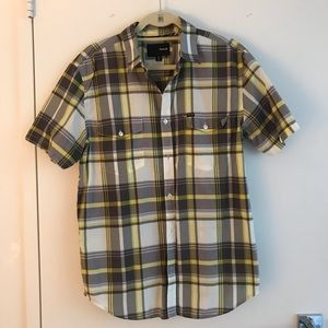 Hurley Button Down Shirt - Size L